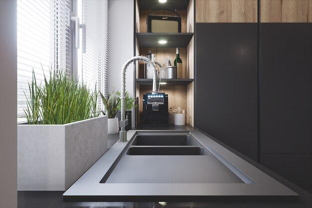 Cucina moderna ed elegante
