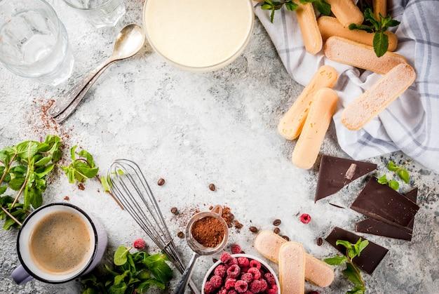 Cucina tiramisù italiano