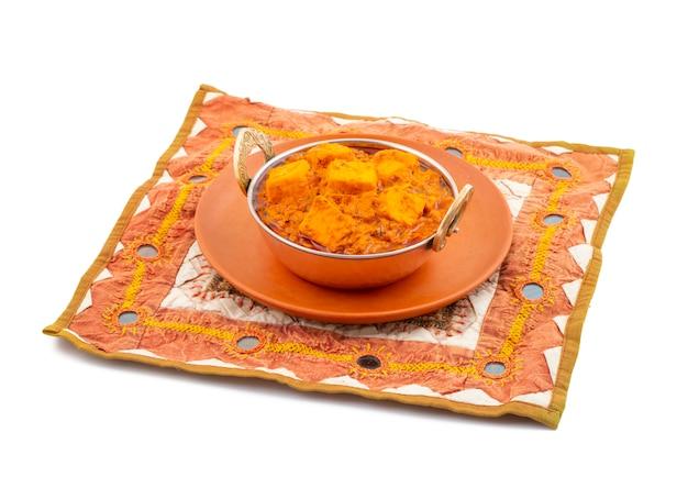 Cucina vegetariana piccante deliziosa indiana paneer toofani