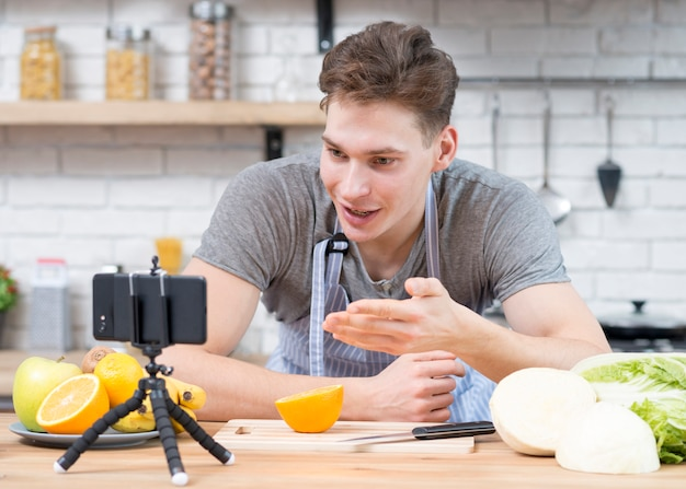 Cucina vlogger