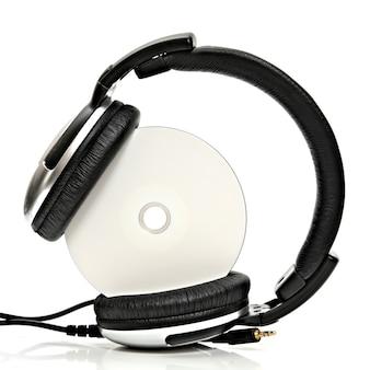 Cuffie con compact disc