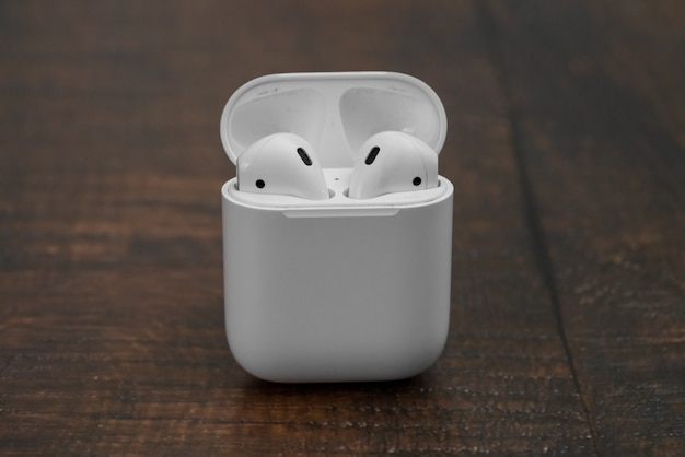 Cuffie wireless airpods di apple
