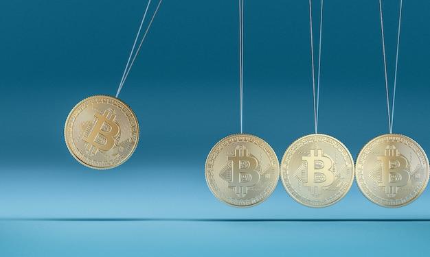 Culla 3d del bitcoin