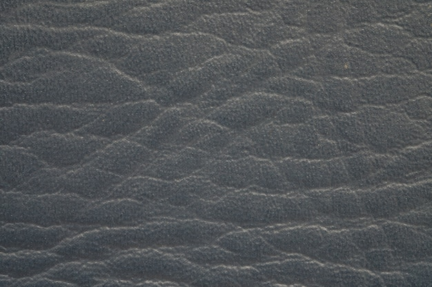 Cuoio di superficie nero del primo piano di vecchio fondo di struttura del portafoglio
