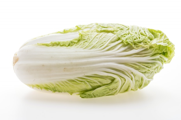 Cuore di lattuga natura vegetale fresco