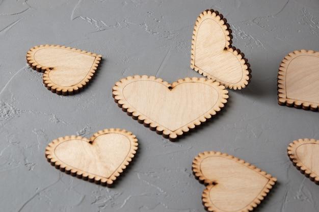 Cuori di legno