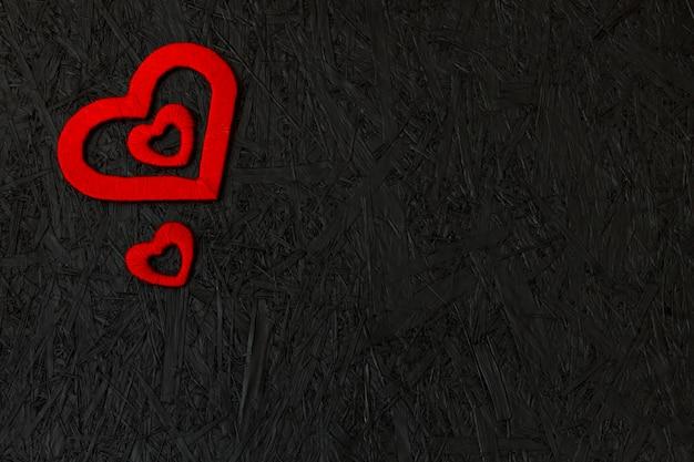 Cuori rossi il 14 febbraio