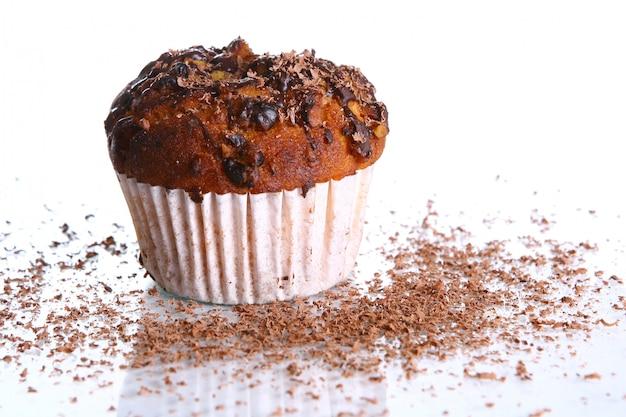 Cupcake al cioccolato grattugiato