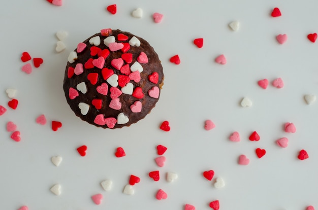 Cupcakes con cuoricini
