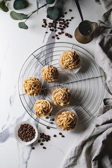 Cupcakes di caffè fatti in casa