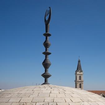 Cupola della moschea nella città vecchia, gerusalemme, israele