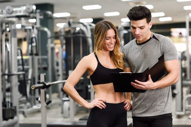 Cura maschi sani pesi atletico