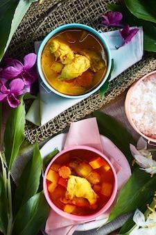 Curry di pollo mussaman