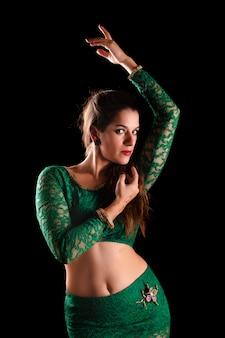 Danzatrice del ventre esotica