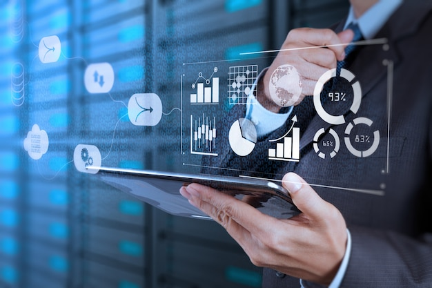 Data management system (dms) con il concetto di business analytics.