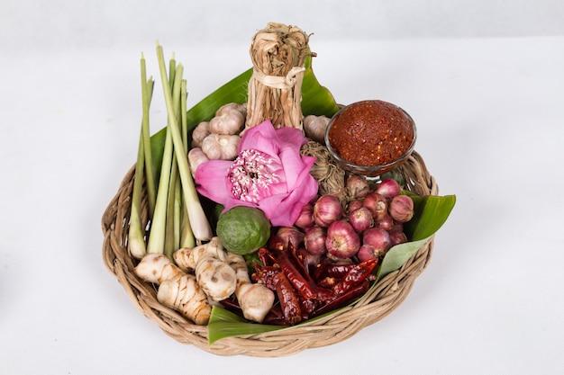 Decorativo di salsa di peperoncino, pasta di peperoncino. cibo thailandese