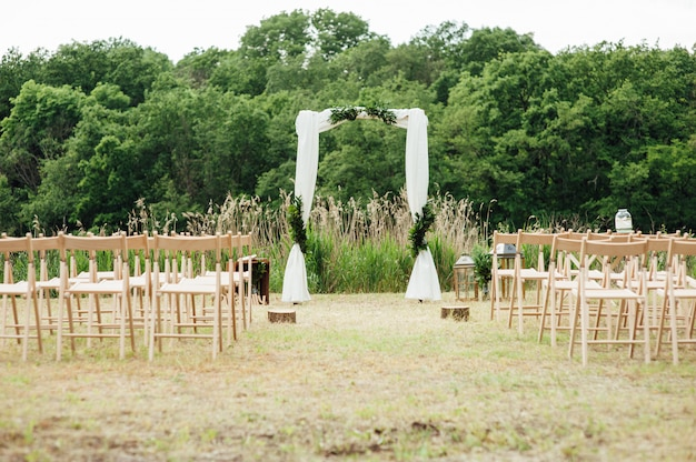 Decorazione cerimonia di nozze