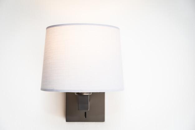 Decorazione della lampada leggera all'interno della stanza