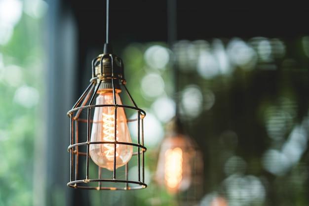 Decorazione della lampadina retrò edison