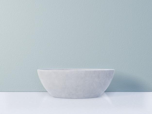 Decorazione della vasca da bagno nell'interno del bagno