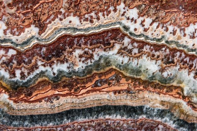 Decorazione di agata minerale naturale colorato