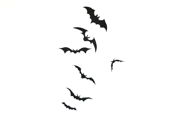 Decorazione di carta pipistrello halloween