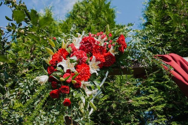Decorazione di fiori da sposa