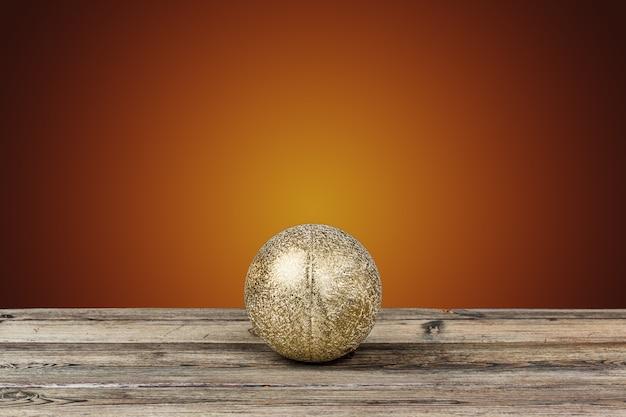 Decorazione di natale sul tavolo di legno