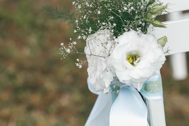 Decorazione di nozze per la cerimonia. cerimonia matrimoniale