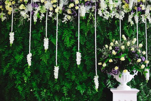 Decorazione floreale freschezza ornamento