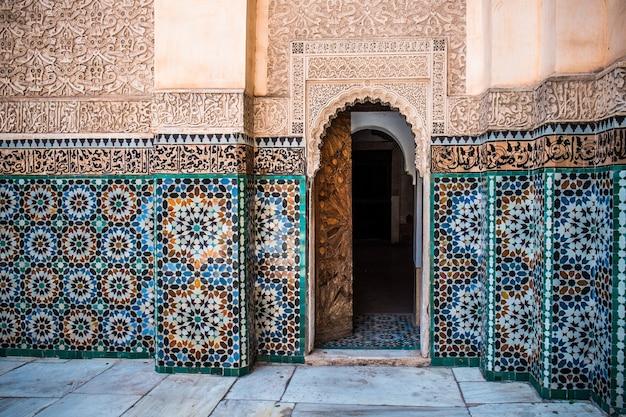 Decorazione murale marocchina