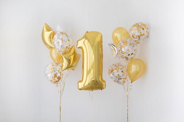 Decorazione per 1 anni di compleanno, anniversario