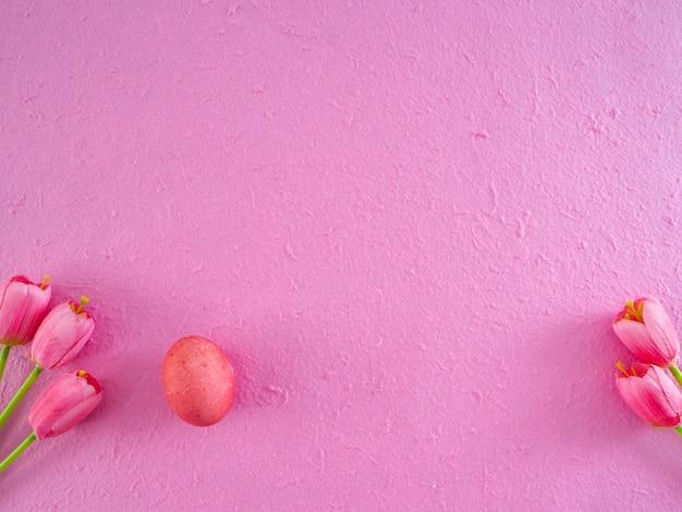 Decorazioni di festa di aster, fondo di concetto di pasqua