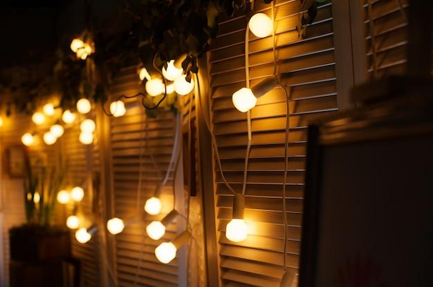 Decorazioni di nozze di notte