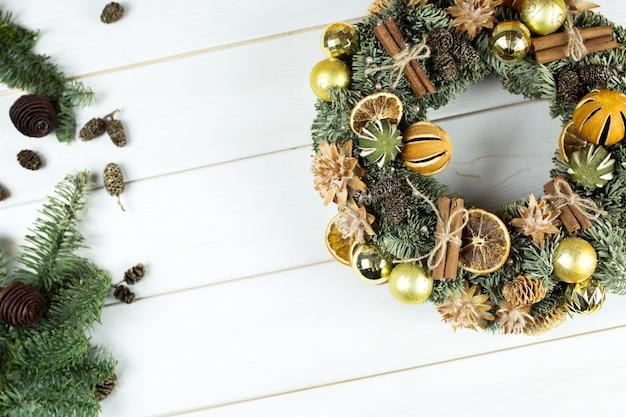 Decorazioni natalizie di capodanno