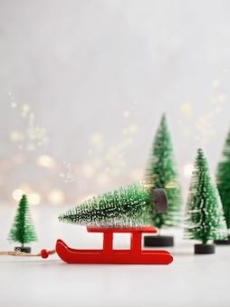 Decorazioni natalizie e invernali stagionali