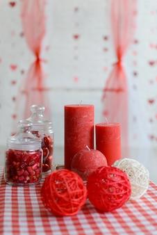 Decorazioni per san valentino. può essere usato come sfondo