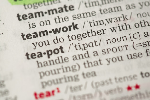 Definizione del lavoro di squadra