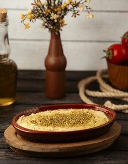 Delizia turca con polvere di pistacchio