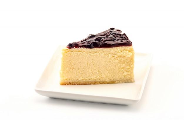 Deliziosa cheesecake, mirtillo