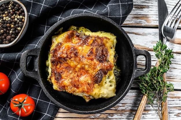 Deliziose lasagne al forno in padella