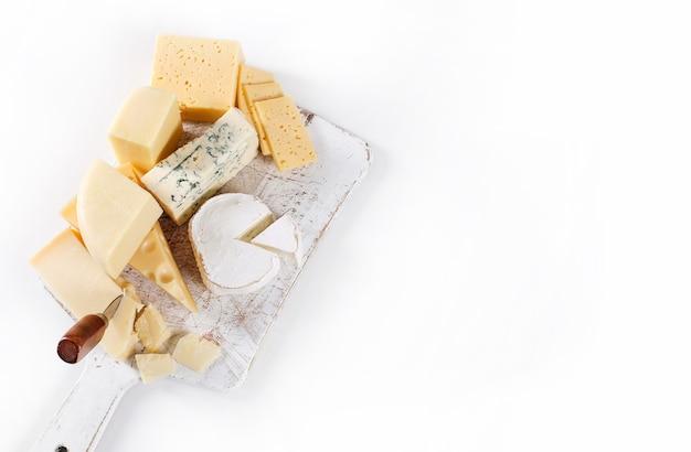 Deliziosi pezzi di formaggio