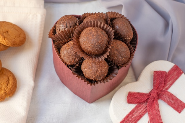 Delizioso dessert al cioccolato