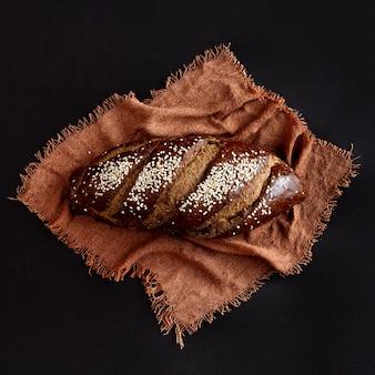 Delizioso pane cotto integrale