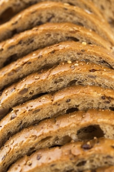 Delizioso pane fatto con buon grano
