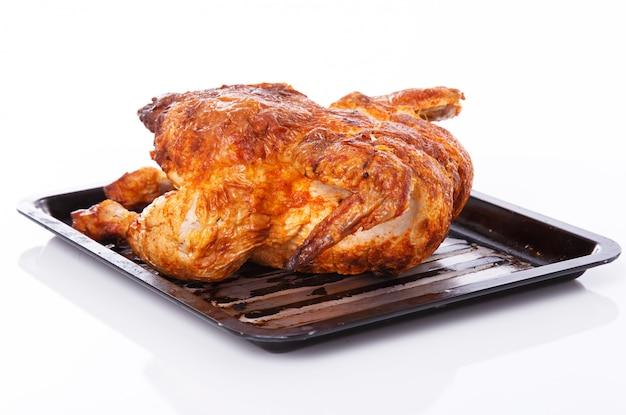 Delizioso pollo sul tavolo