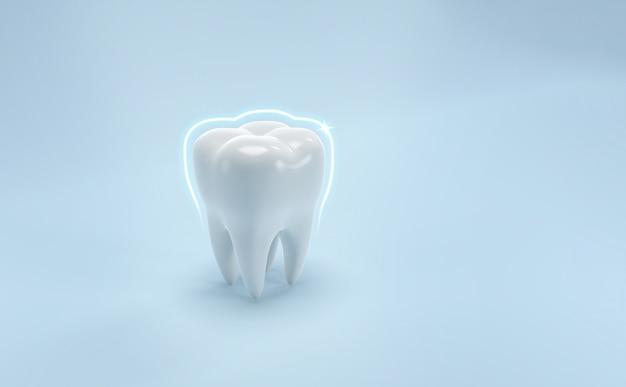 Denti sfondo di cure odontoiatriche