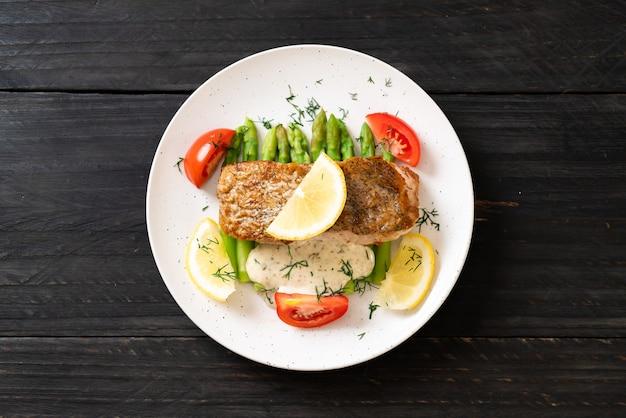 Dentice alla griglia bistecca di pesce