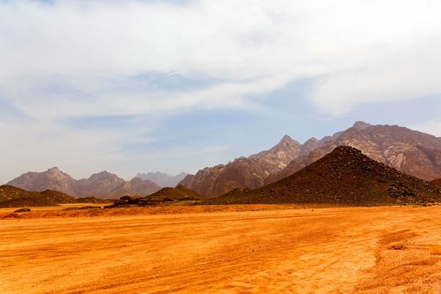 Deserto caldo senza vita