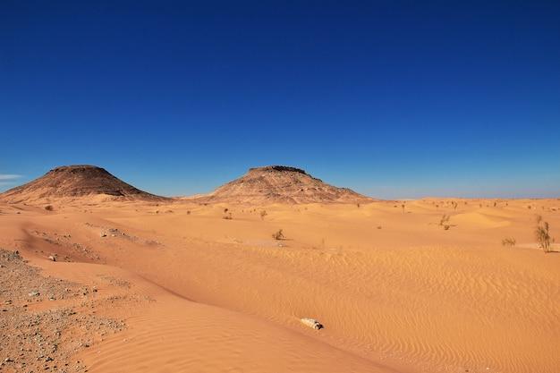 Deserto del sahara nel cuore dell'africa